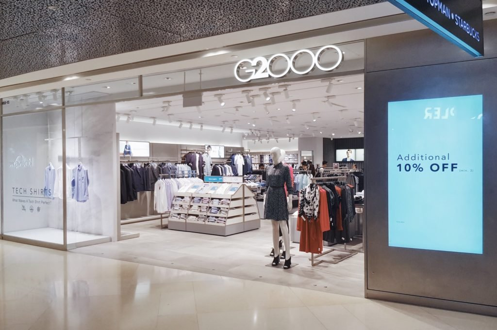 G2000 store front