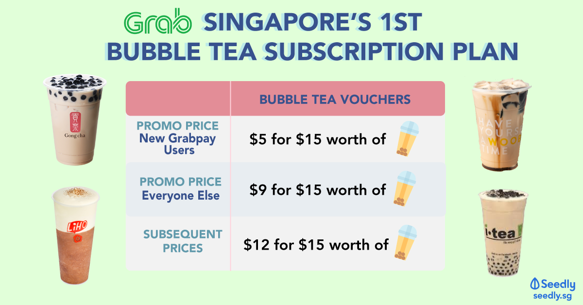 singapore bubble tea subscription service