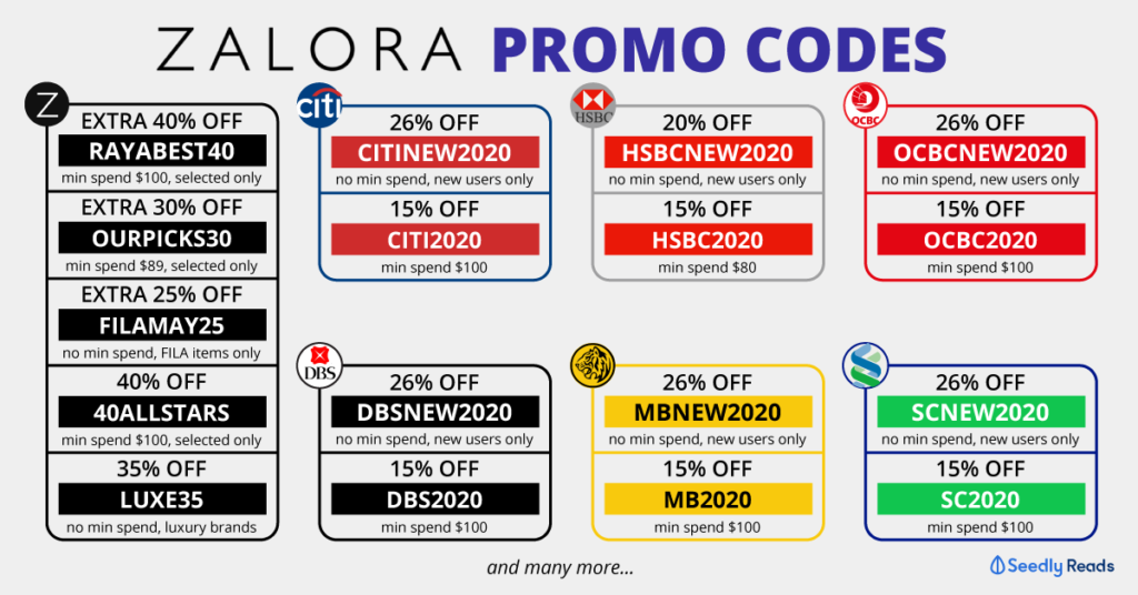 Seedly Zalora Promo Code