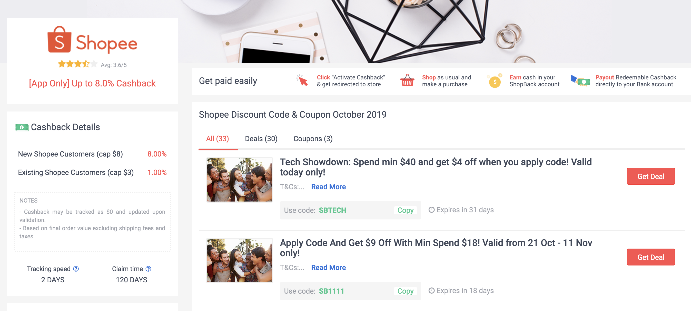 Shopback And Shopee
