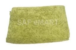 SAF green towel
