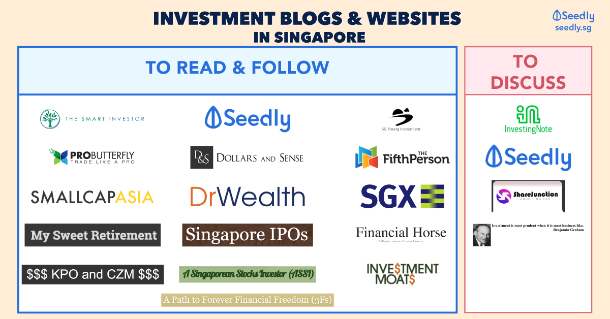 Best investment websites and blogs in Singapore