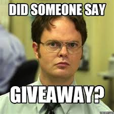 did someone say giveaway dwight shrute