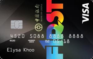 BOC F1RST card