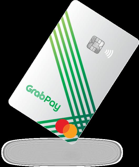 GrabPay Card Tilted At Angle