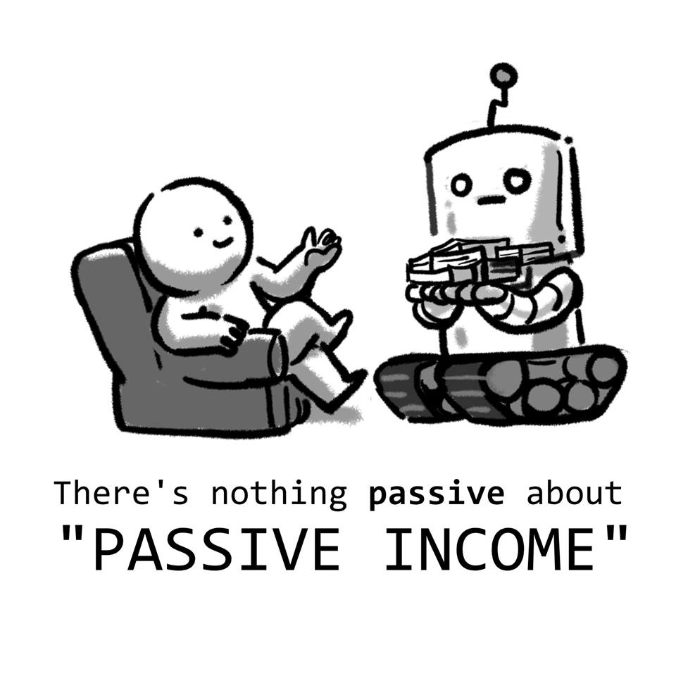 Woke Salaryman Nothing Passive About Passive Income #1
