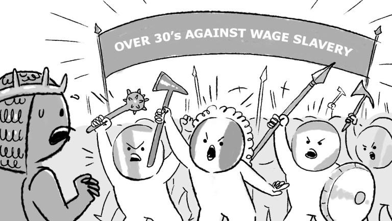The Woke Salaryman Over 30 Against Wage Slavery #1