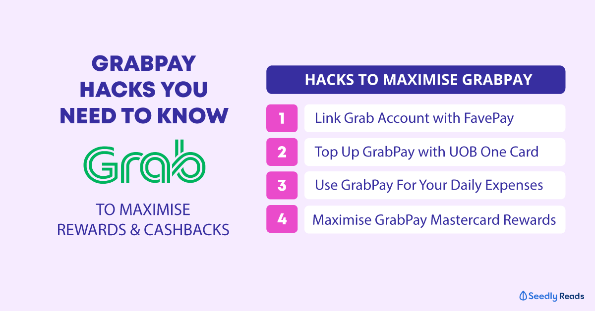 Grabpay Hacks You Need To Know To Maximise Miles, Cashback and Rewards!
