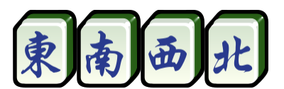 Wind tiles mahjong