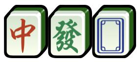 Dragon tiles, 三元牌 Mahjong