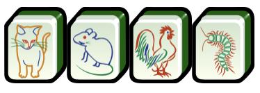 Animal Tiles (禽兽牌) Mahjong