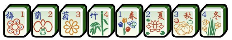 Flower set (花牌) mahjong