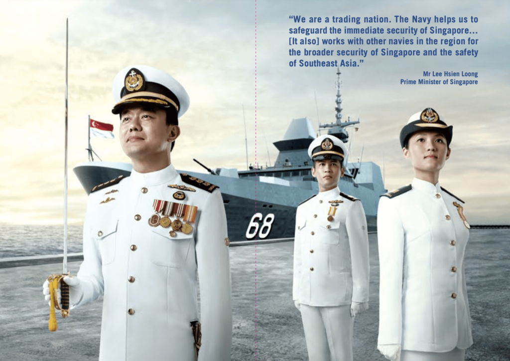 The Republic of Singapore Navy Officers