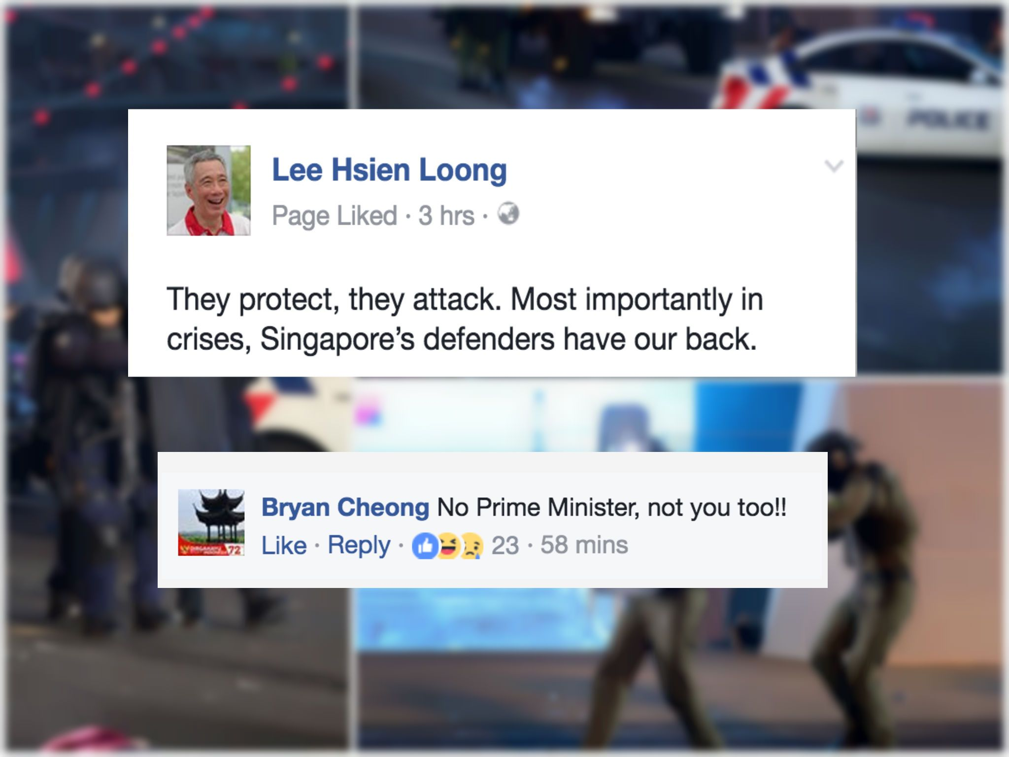 PM Lee meme