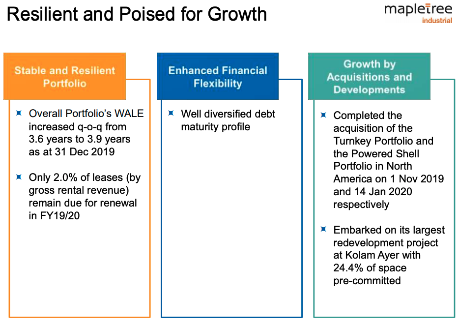 Mapletree Industrial Trust growth prospects