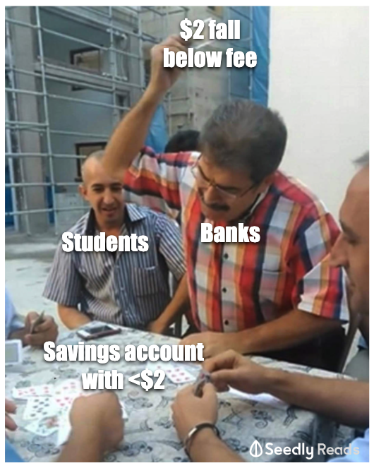 Best Savings Account For Students 2020 Seedly Meme