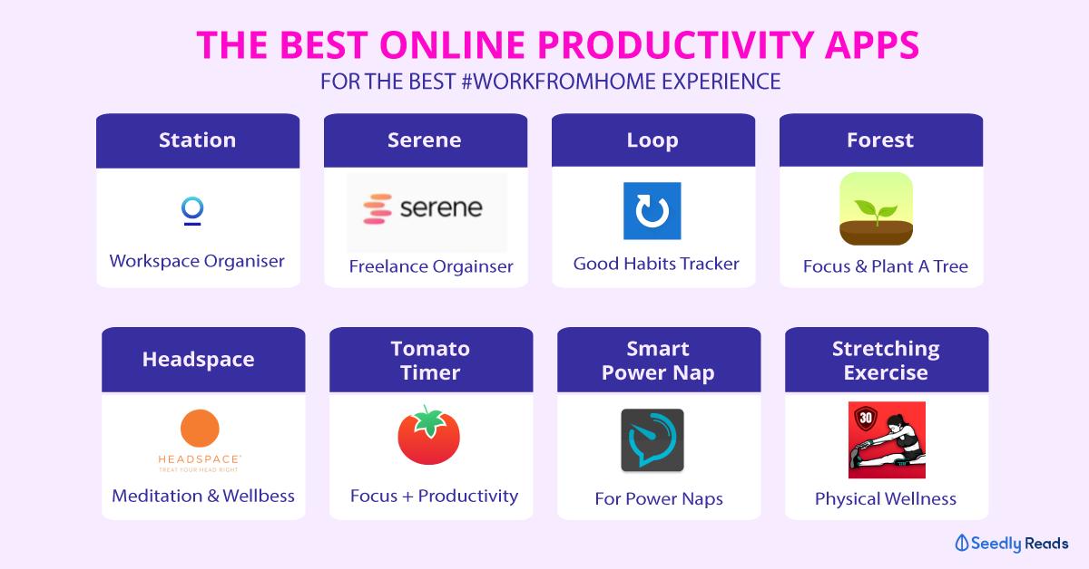 best online productivity apps