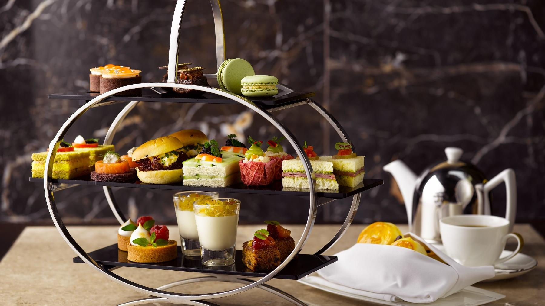 the courtyard afternoon tea