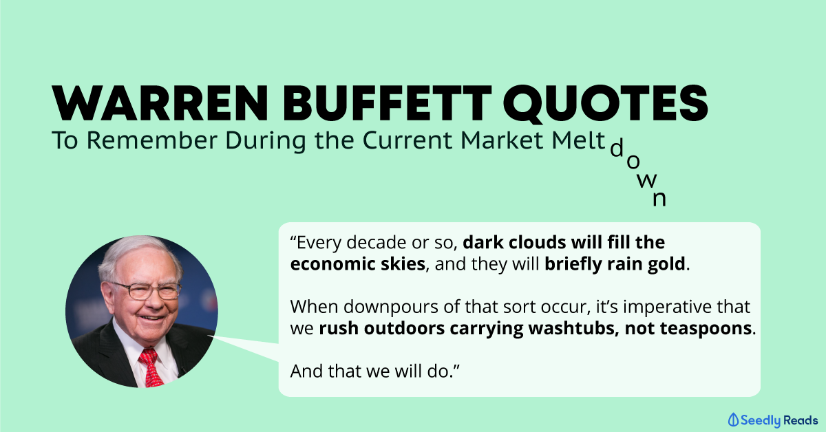 Warren Buffett quotes stock market crash