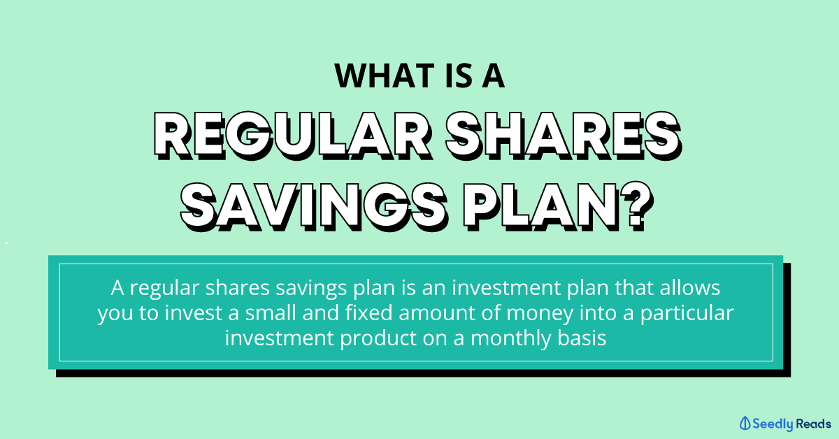 what is a regular shares savings plan (RSSP)?
