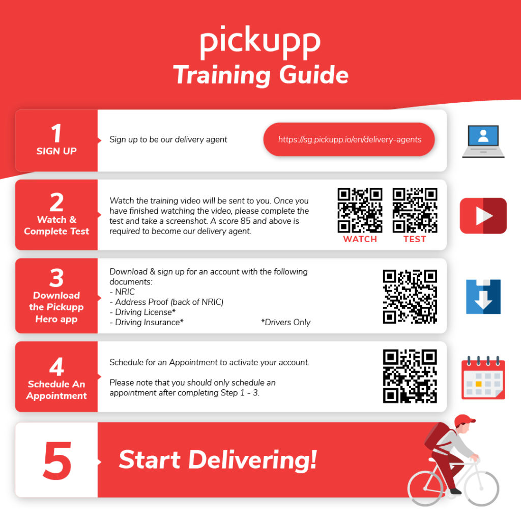 pickupp delivery agent