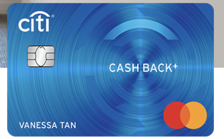 Citibank Cashback Plus Card
