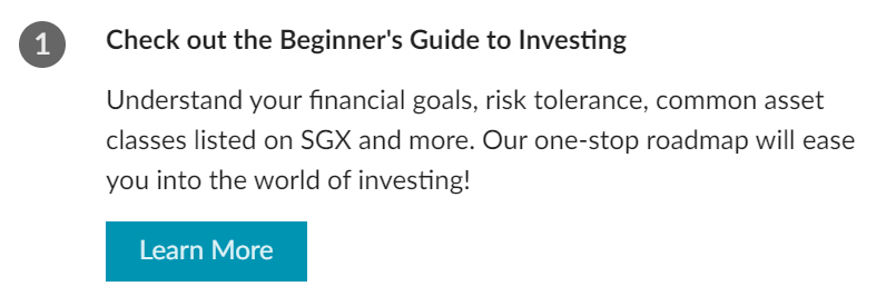 Learn More - SGX Investor Portal