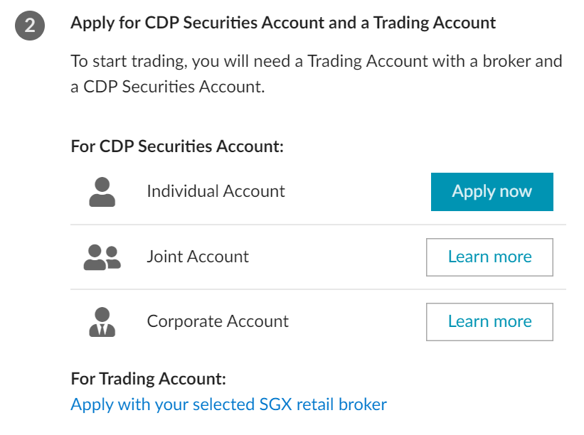 Apply Now - SGX Portal