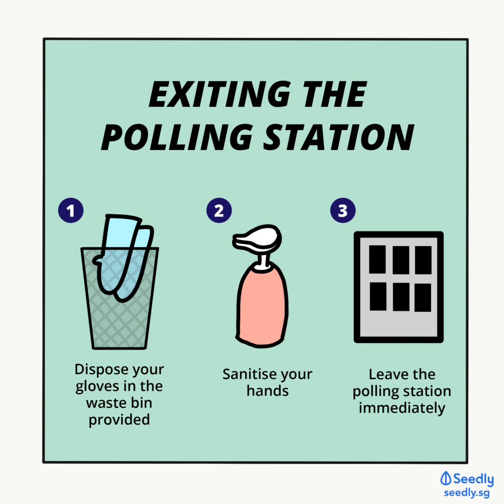 Exiting Polling Station SeedlyComicSeries