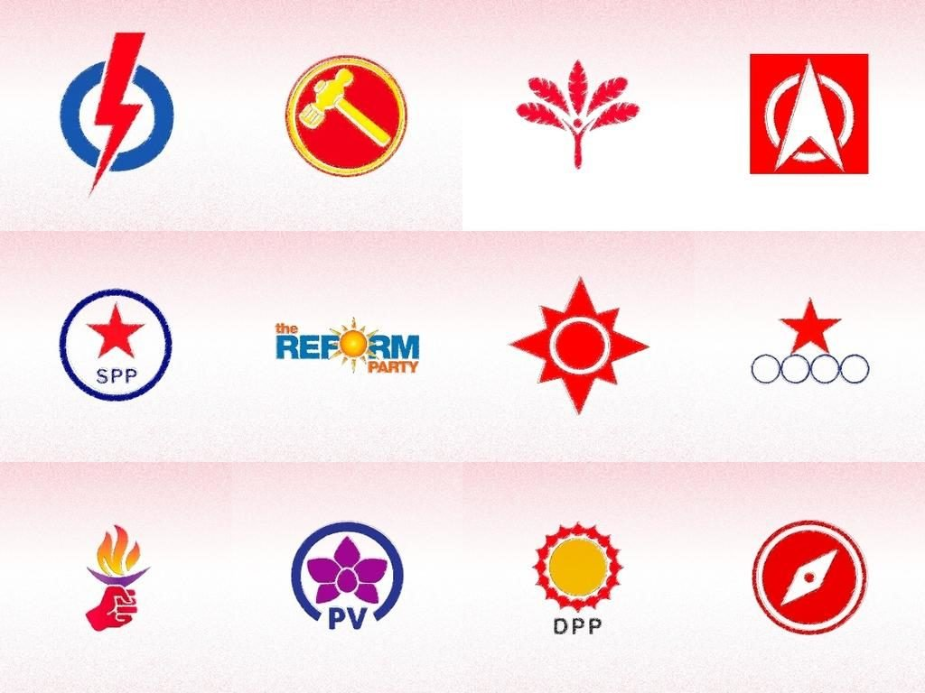 Political Party Logos Singapore GE2020