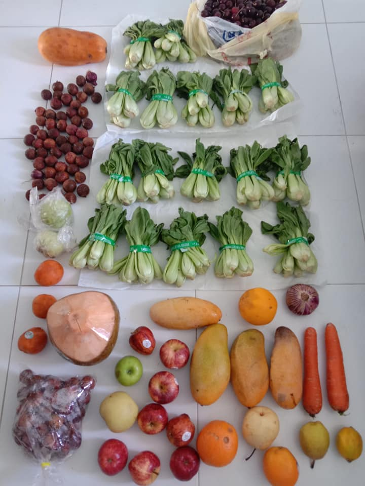 SG Food Rescue vegetables and fruits