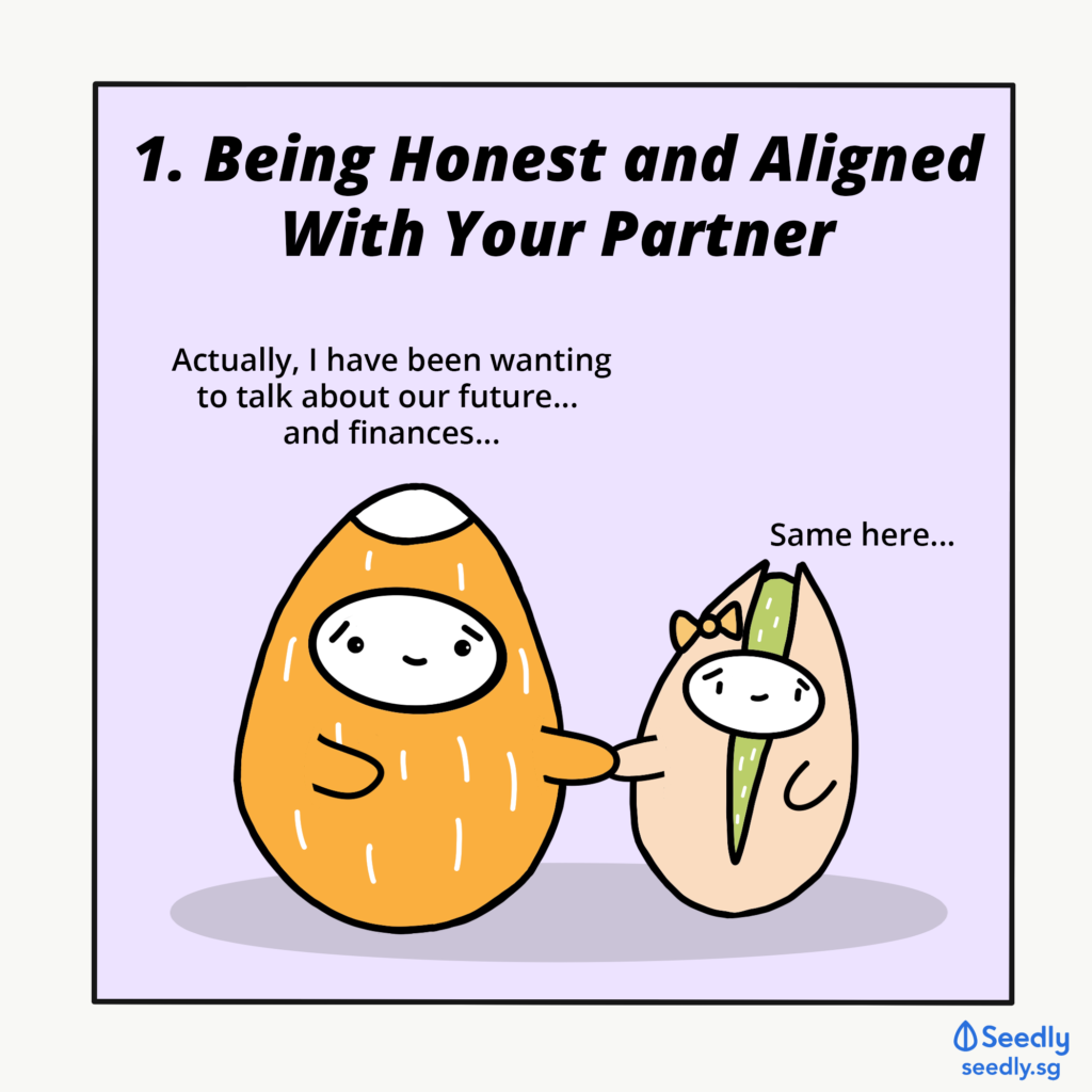 Being Aligned and Honest With Your Partner About Finances