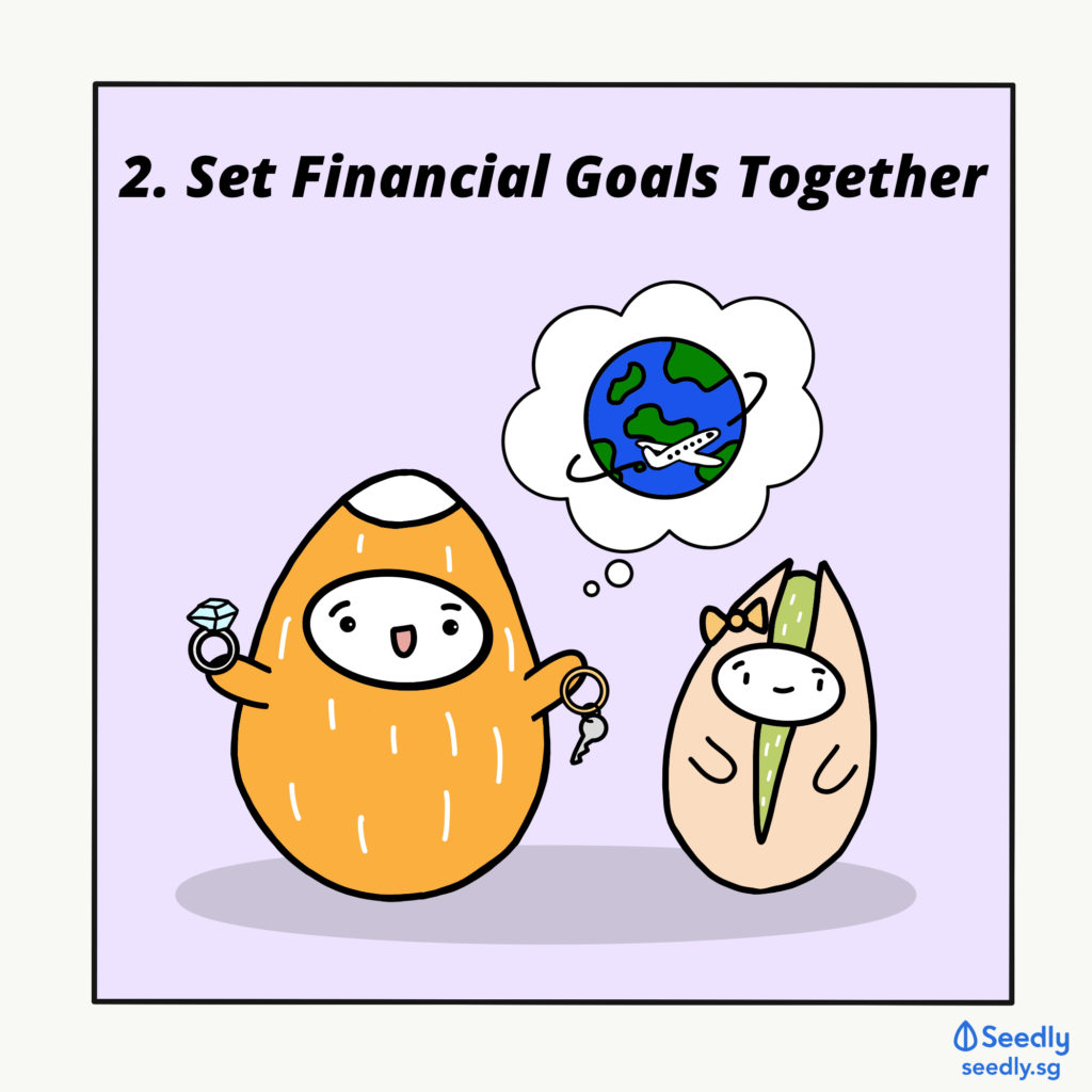 Set Financial Goals Together As a Couple