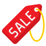 sale discount tag