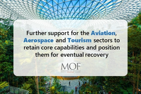 Further support for aviation, aerospace, tourism sector