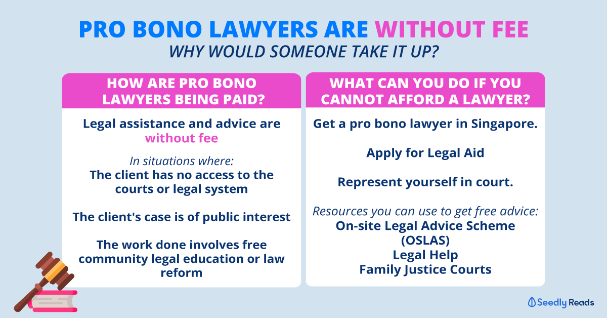 Pro Bono lawyer in Singapore