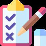 clipboard test pencil