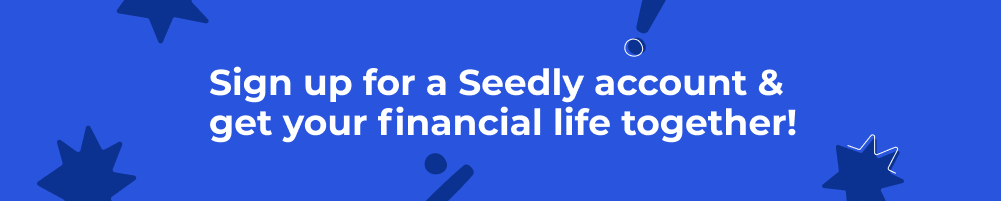 Seedly New Sign Up Button
