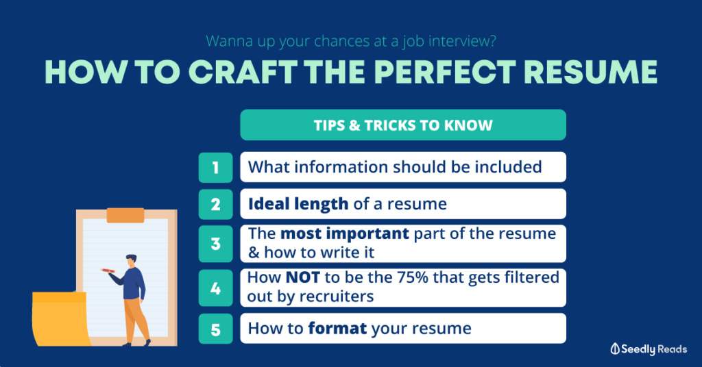 280920 - How to craft the perfect resume