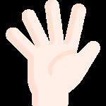 five fingers hand
