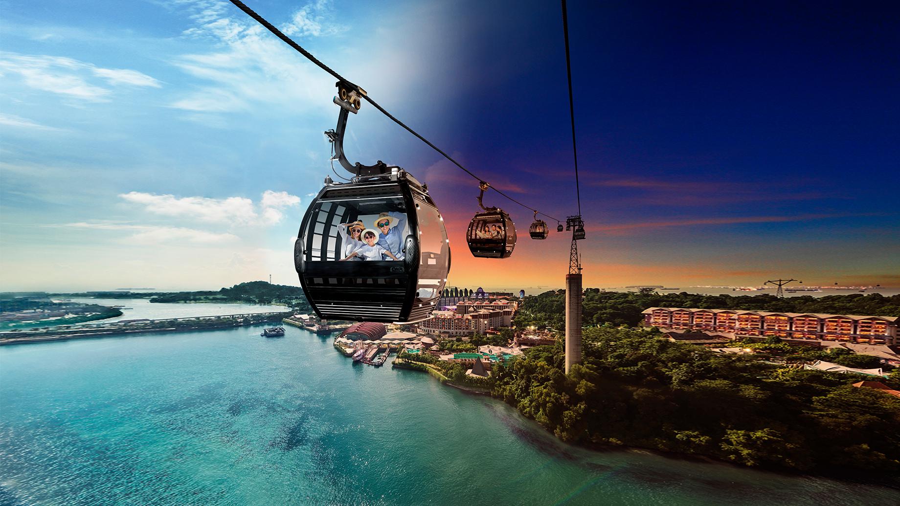 Singapore Cable Car Sentosa